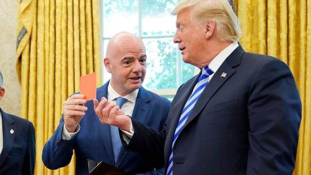 لالیگا باعث اختلاف ترامپ و اینفانتینو می گردد